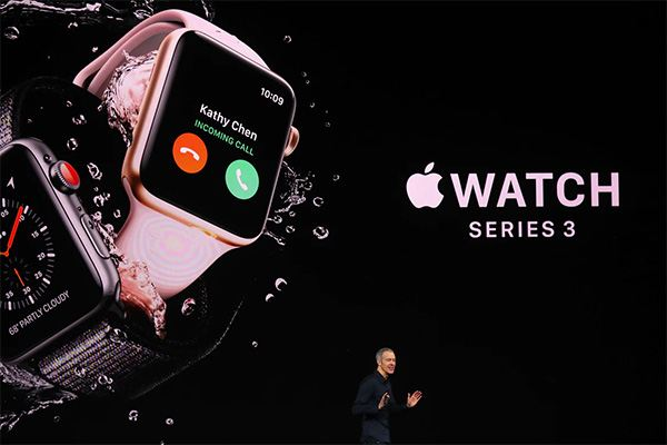 Apple Event September 12, 2017 - Apple Watch 3 Cellular