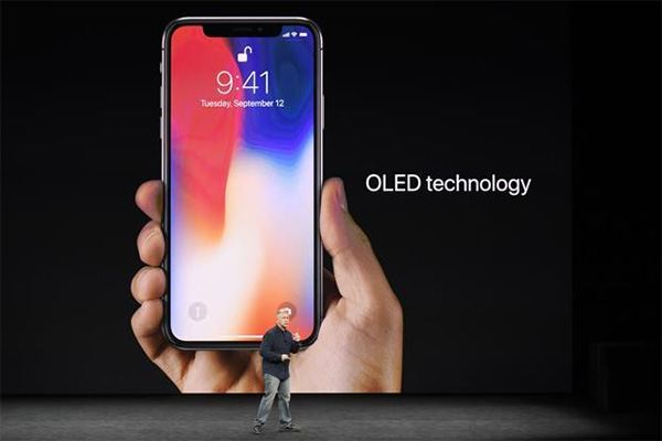 Apple Event September 12, 2017 - iPhone X OLED Technology