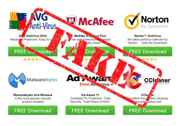 Rogue security software Rogue Antivirus