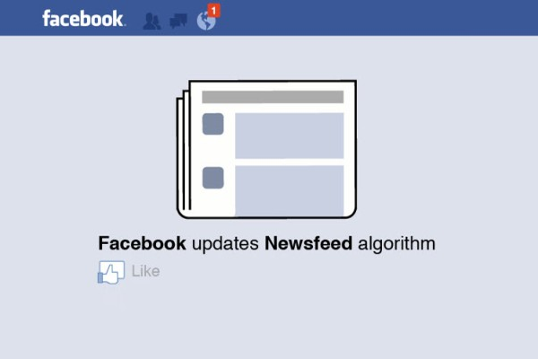 Facebook's News Feed Algorithm Change
