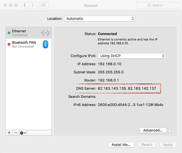 malicious dns - MaMi Malware Struck MacOS