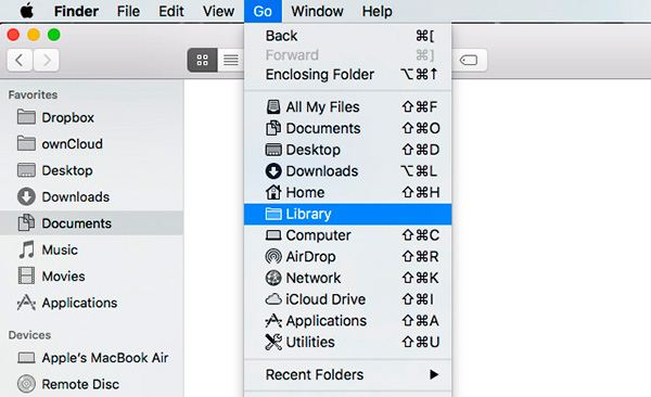 7finder 05 library submenu - The TOP BEST 7 Finder Abilities and Customizing Tips