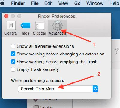 7finder 07 default search folder - The TOP BEST 7 Finder Abilities and Customizing Tips