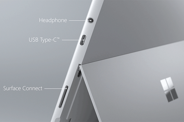 microsoft new surface go tablet connections 1 - Microsoft's New Surface Go Tablet Arrives