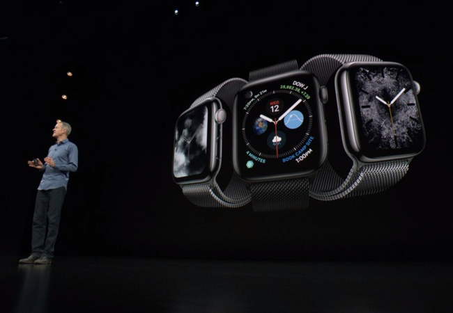 apple event 2018 apple watch 4 presentation - Apple's iPhone XS, XS Max, XR Unveiled