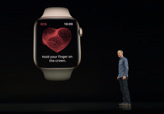 apple event 2018 apple watch heart - Apple's iPhone XS, XS Max, XR Unveiled