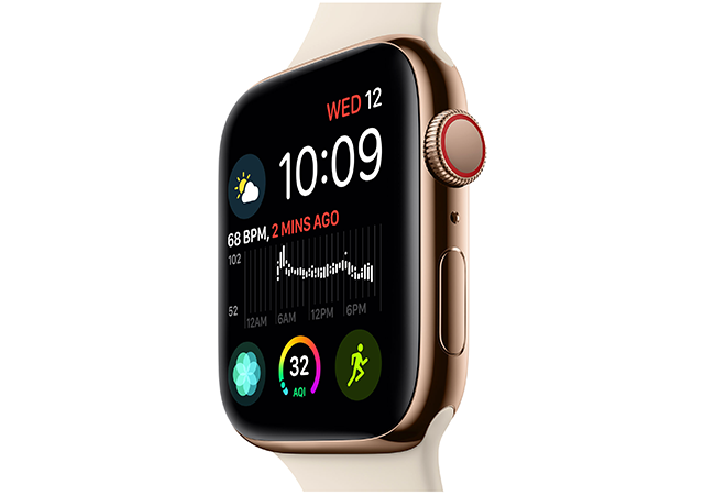 apple event 2018 apple watch screen - Apple's iPhone XS, XS Max, XR Unveiled