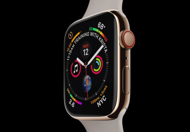 Apple unveiled Series 4 — the new Apple Watch smart watch model