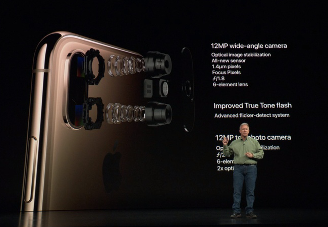 Apple is proud of its smartphones cameras