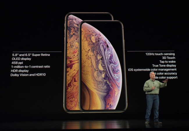 iPhone XS and XS Max features and specifications