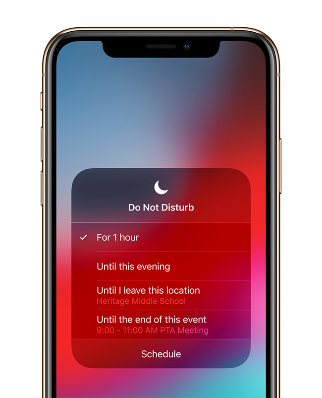ios 12 do not disturb - iOS 12 - Its Features and Secrets of the Operating System