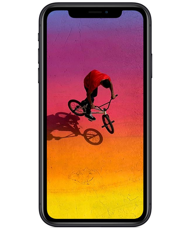 A beautiful 6.1-inch all-screen Liquid Retina display stretches into the corners of iPhone XR and is the most advanced LCD in a smartphone.