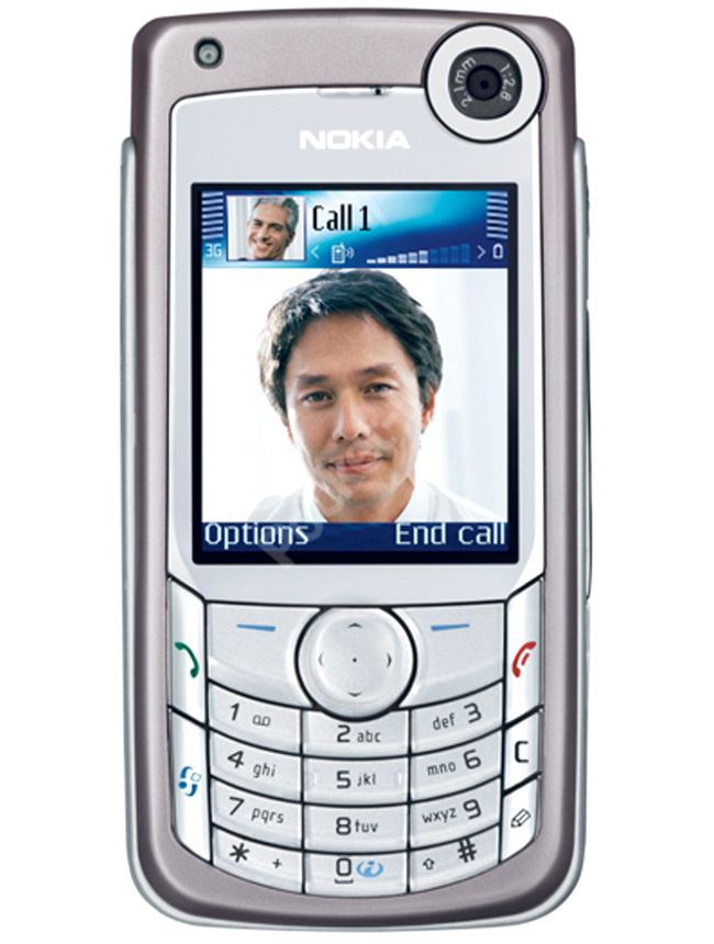 Nokia 6680 (2005), the first Nokia smartphone with a front-facing camera