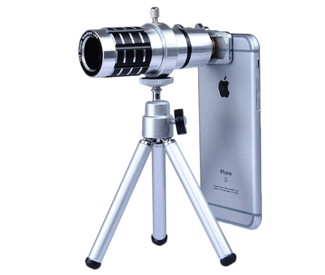 Optical Zoom Telescope Camera Lens with Tripod for iPhone