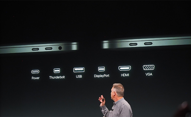 How we need to deal with the USB-C ports installed in MacBooks.