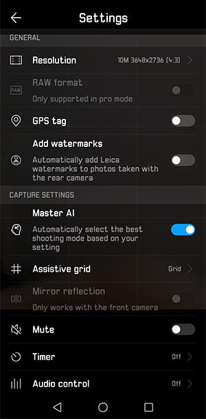 artificial intelligence in smartphones huawei p20 camera settings - Artificial intelligence in smartphones — why do we need it?