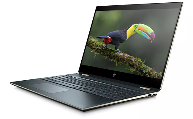 the best flagship laptops from ces 2019 hp spectre 15 x360 - The Best Flagship Laptops From CES 2019