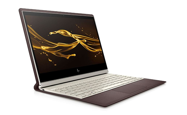 the best flagship laptops from ces 2019 hp spectre folio - The Best Flagship Laptops From CES 2019