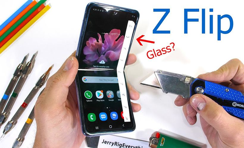 samsung galazy z flip more fragile than porcelain cup jerry - Samsung Galazy Z Flip: More Fragile than Porcelain Cup