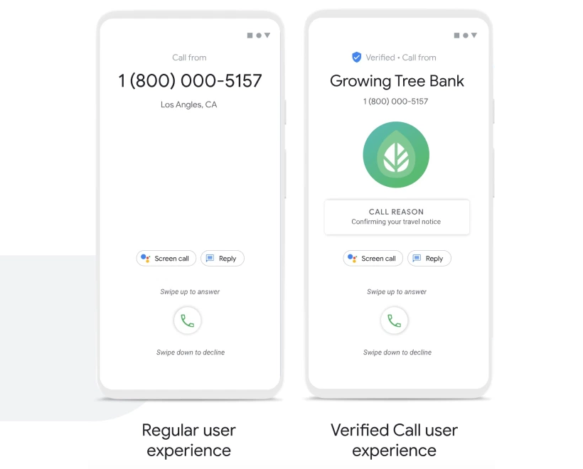 calling it safe verified calls new service offered by google exp - Calling It Safe: Verified Calls, New Service Offered by Google