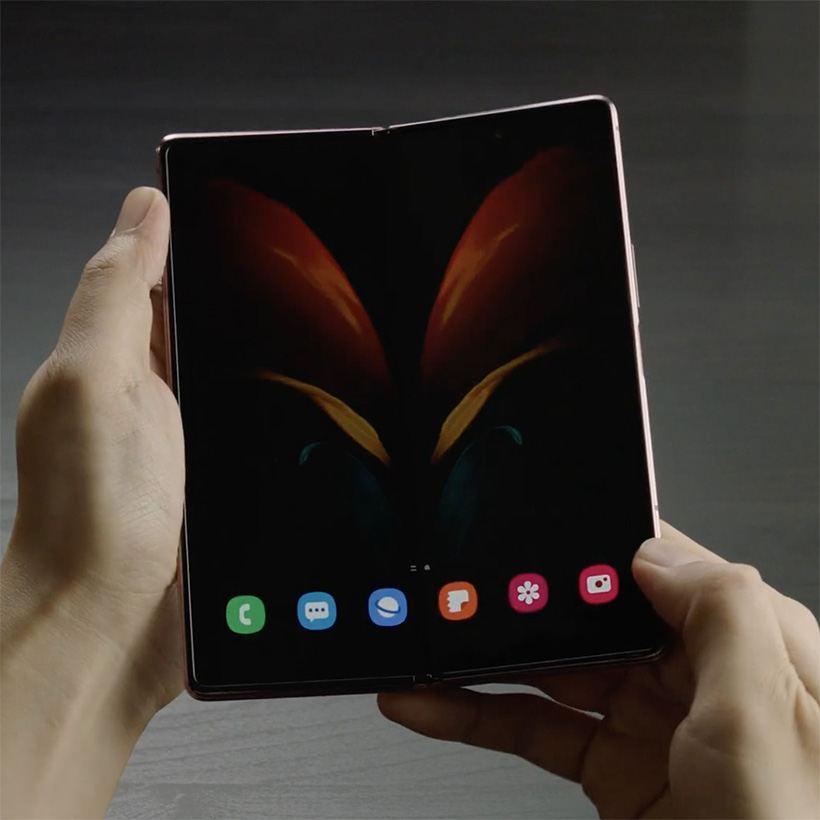 galaxy z fold 2 phone no folding back new - Galaxy Z Fold 2 Phone: No folding back