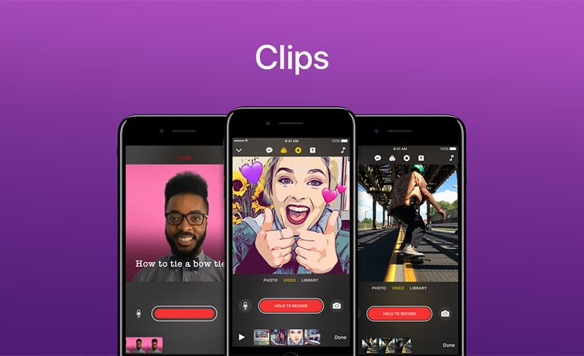 The (apps) chart-topping Apple's Clips