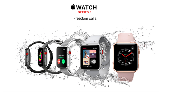 Apple Watch Series 3: Freedom Calls